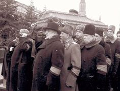 Похороны Сталина. 1953 г. Funeral of Stalin.: