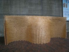 art installation that once stood outside the Graduate School of Design (GSD) at Harvard