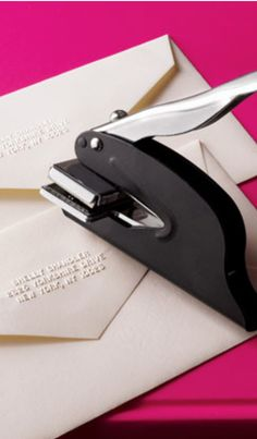 I love this address embosser - and at only $24 - it's a steal!
