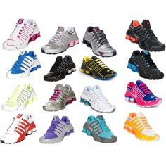 d33a607416 Nike Shox I have the top right black and orange ones