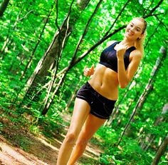 Blonde Woman Exercising (activity, adult, athlete, athletic, attractive, beautiful, beauty, body, caucasian, energy, exercise, female, figure, fit, fitness, forest, girl, happy, health, healthy, jog, jogger, lifestyle, nature, outdoor, person, practice, pretty, recreation, run, runner, shape, slim, smile, sport, sports, spring, summer, train, training, vitality, wellbeing, wellness, white, woman, woods, workout, young)