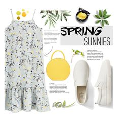 """Spring dress"" by fashionloverlayla ❤ liked on Polyvore featuring Gap, Spring and dress"