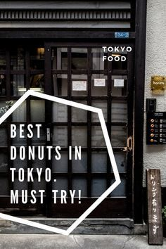 The best donuts in Harajuku Tokyo. Must try! These donuts are hand made every day to perfection!