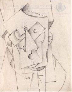 Cubist Composition – The Head (1912 - 1913) Otto Gutfreund
