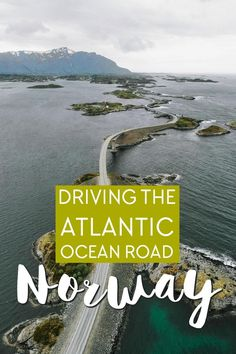 Driving the famous Atlantic Ocean Road in Norway Beautiful Roads, Beautiful Places To Visit, Cool Places To Visit, Atlantic Road Norway, Atlantic Ocean, Sweden Travel, Norway Travel, Tourist Spots, Vacation Spots
