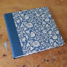 Binding a large photo album - a finished album!