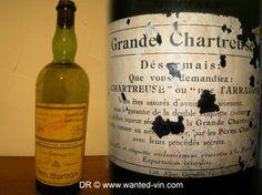 00074 A vendre : 1 Bouteille Chartreuse Tarragone – Jadis – L. GARNIER