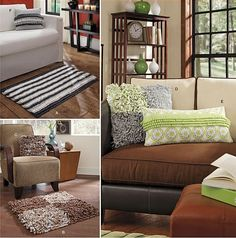 Sew & Make Simplicity 1931 SEWING PATTERN - Easy Fleece AREA RUGS THROW PILLOWS #Simplicity