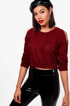 Click here to find out about the Sofia Cold Shoulder Crop Jumper from Boohoo, part of our latest SALE collection ready to shop online today!