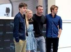 Nick Robinson, Chloe Grace Moretz, Liev Schreiber, and Alex Roe attend 'The 5th Wave' photo call during Summer Of Sony Pictures Entertainment 2015 at The Ritz-Carlton Cancun on June 12, 2015 in Cancun, Mexico. #SummerOfSonyPictures #5thWaveMovie