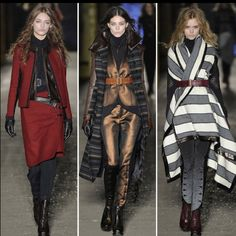 Rag & Bone Fall collection! Can't wait to see it in person!