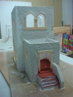 Christmas Nativity, Christmas 2019, Model Castle, Diy And Crafts, Arts And Crafts, Fairy Tree, Old World Charm, Art For Kids, Art Projects