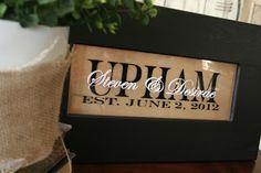 Cinnaberry Suite: cricut. Wedding or Anniversary gift
