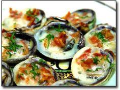 Garlic Baked Clams Recipe ♥