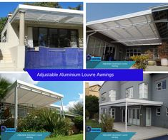 The ultimate home improvement value added solution. Adjustable Aluminium Louvre Awnings have louvre panels that can be opened and closed to suit all types of weather, giving you extended outdoor living all year round.