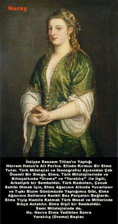Tycjan/Titian - Portrait of a Lady Venetian version of the Turkish style - La Rossa -Roksolana - Hurren