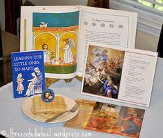 Feast of the Annunciation of the Lord-- videos, books, activities and food!