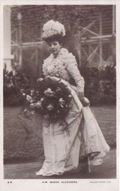 HM Queen Alexandra of the United Kingdom.