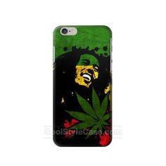 Bob Marley Rasta Reggae Flag Cheap USD19.99 full wrap mobile phone case for IPHONE 6S with Free Waterproof Bag Limited Time Offer