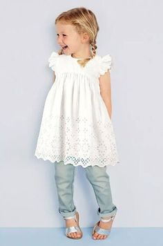 toddler cotton dresses | dress button on back short sleeve summer cotton vintage toddler kids ...