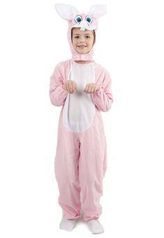 Déguisement lapin combinaison rose enfant 1c628f5ec78