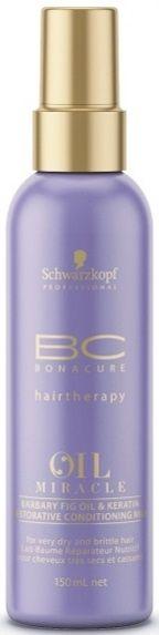 Schwarzkopf BC Miracle Oil Barbary Fig Oil Milk - 150 ml mikrokeratiini kaktusviikunaöljy korjaa hiukset sileiksi ja vahvemmiksi