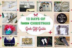 12 Days of Fandom Christmas: Geek Gift Guide
