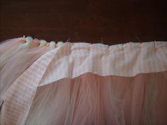 DIY tutu with waistband