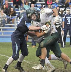 SEEKONK - For those who were sitting at chilly Robert T. Roy Field last November for the 27-0 Dighton-Rehoboth victory over the Seekonk High football team — or for the September meeting in which the Falcons bested their rival 35-0 on their home field — Thursday's meeting at Connolly Field had a familiar feel.