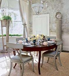 Dining room decorating photos - myLusciousLife.com - sophisticated dining rooms.jpg