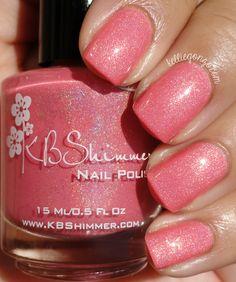 KBShimmer Blush Money // kelliegonzo.com Gel Nail Art, Gel Nails, Manicure, Nail Polishes, Beauty Nails, Beauty Makeup, Indie Makeup, Nail Blog, Cool Undertones