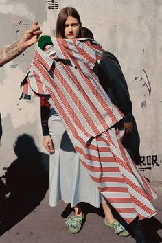 Carven | Change Your Stripes | 9 Top Trends From the Resort 2018 Runways