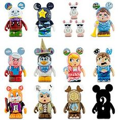 Disney Vinylmation Nursery Rhymes Series - 3''   Disney StoreVinylmation Nursery Rhymes Series - 3'' - Beloved stories, expert artistry and Vinylmation are all at work in the figure series that would make Mother Goose herself proud! Individual blind boxes mean you won't know who you got until you open it. Discover the fun!