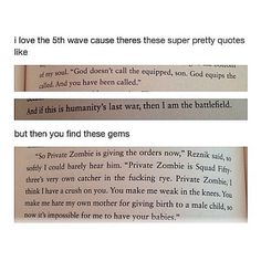 My goodness yes omg XD I'm literally crying from feels and laughter when I'm reading that book. XD