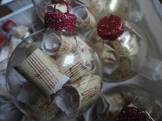 beautiful, easy, custom homemade ornaments