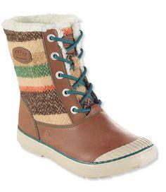 Women's Keen Elsa WP Boots in Wool Stripe