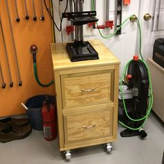Drill-Press Cart