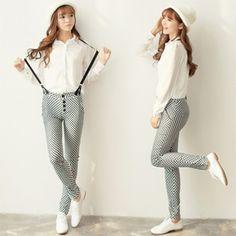 2013 Korean Fashion Sweet Wild Overalls