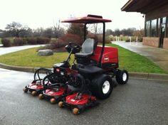 2011-Toro-Groundsmaster-4300-D-Rotary-Contour-Mower-AWD 2678 hours