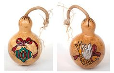 Gourd Ornament by Christy Barajas