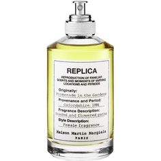 MAISON MARTIN MARGIELA 'REPLICA' Promenade in the Gardens ($125) ❤ liked on Polyvore featuring home, home decor, maison margiela, green bottle, green jars, heart shaped jars and heart shaped bottle