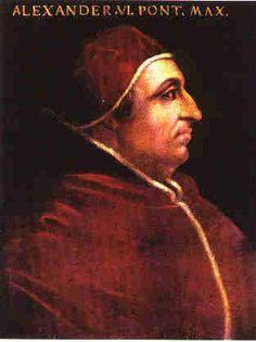 Rodrigo Borgia, el papa Alejandro VI