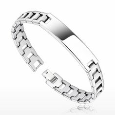 Special Offers Available Click Image Above: Spikes Tungsten Carbide Multi-faceted Link Bracelet Id Bracelets, Bangles, Tungsten Bracelet, Urban Male, Body Jewelry Piercing, Tungsten Carbide, Stylish Jewelry, Cartier Love Bracelet, Wedding Rings