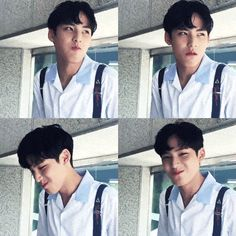 mingyu-black-hair SEVENTEEN