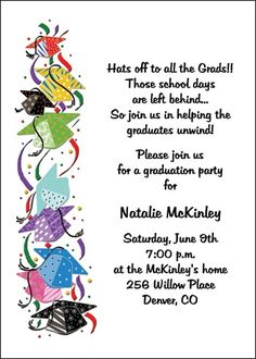 Graduate Party Invitation