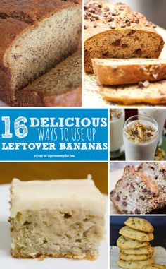 These banana bread recipes look delicious!