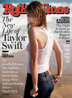 a Taylor Swift sideblog — Taylor's Rolling Stone covers promoting Red (Oct...