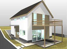 Klára kétszintes könnyűszerkezetes ház