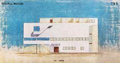 nickkahler: Le Corbusier, Villa Stein, Garches, France, 1925-7...