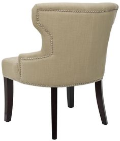 Safavieh Jack Tufted Fabric Slipper Chair | Wayfair